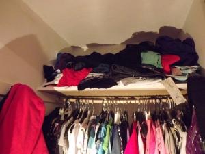 Shelves in my closet