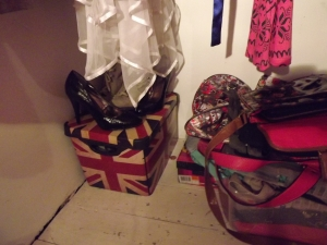Shoes in my wardrobe