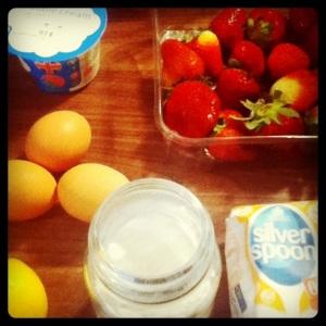 Meringues ingredients