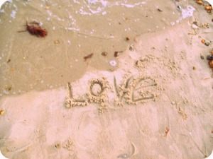 Love in the sand