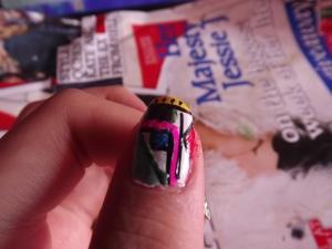 aztec nails- final design