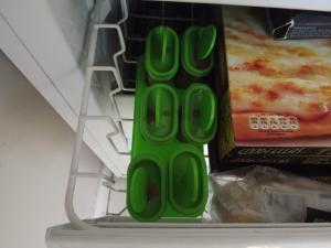 Croc lollies in the freezer