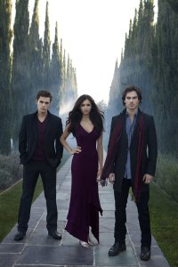 The Vampire Diaries- Stefan, Elena and Damon