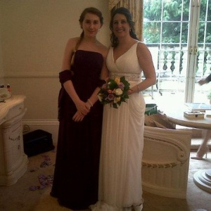 rosie and auntie marianne wedding