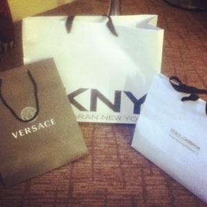 DKNY, Dolce & Gabbana, Versace